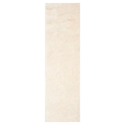 Ivory Solid Loomed Runner - (2'3 X8' Runner)- Safavieh®