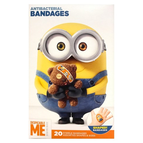 Adhesive Bandages - Despicable Me Minions - 20ct - image 1 of 2