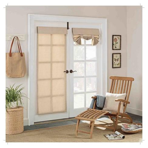 Key Largo Indooroutdoor French Door Blackout Panel Beige 26x68