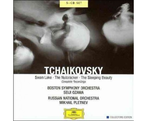 Ozawa - Tchaikovsky:Swan lake the nutcracker (CD) - image 1 of 1