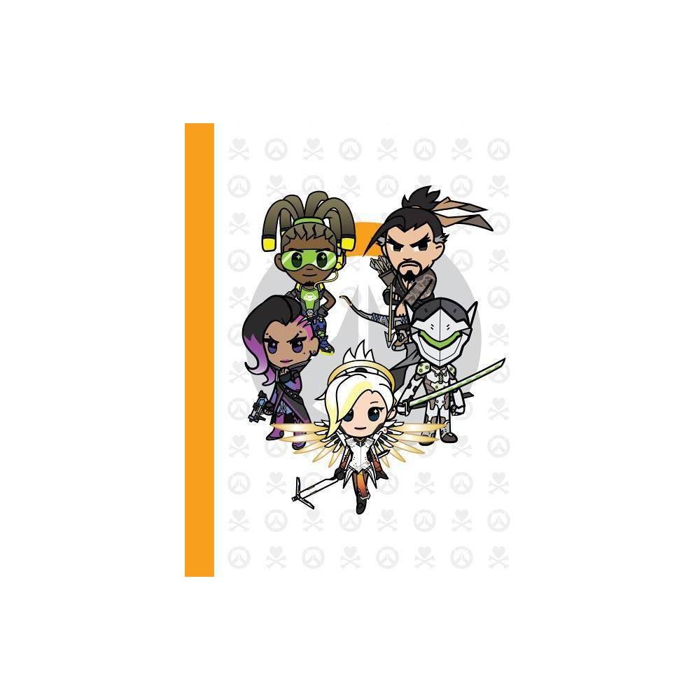 Overwatch Tokidoki Journal/5 Character - (Hardcover) Us, Books
