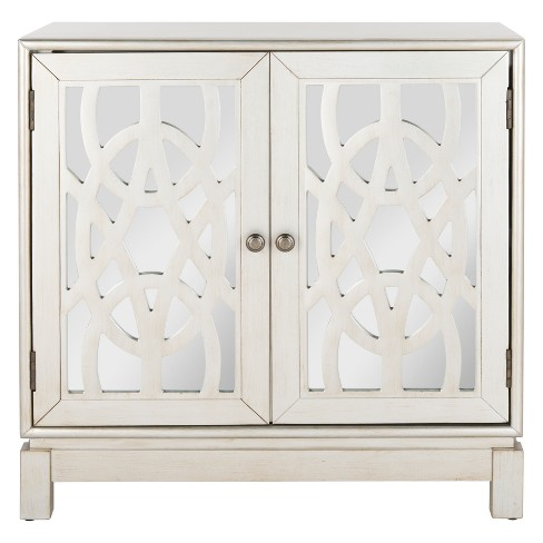 Ashlynn 2 Door Chest Silver - Safavieh - image 1 of 7