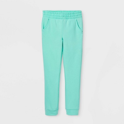 Girls' Cozy Fleece Jogger Pants - Cat & Jack™