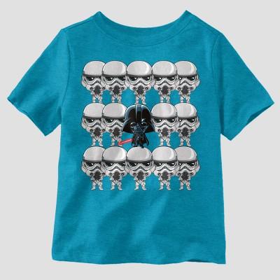 5e60280d27073 Toddler Boys Star Wars Short Sleeve T-Shirt – Blue 4T – Target ...