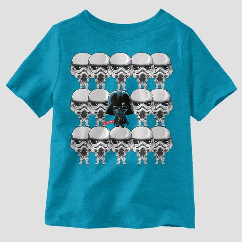 916c07f7c Toddler Boys' Star Wars Short Sleeve T-Shirt - Blue 5T : Target