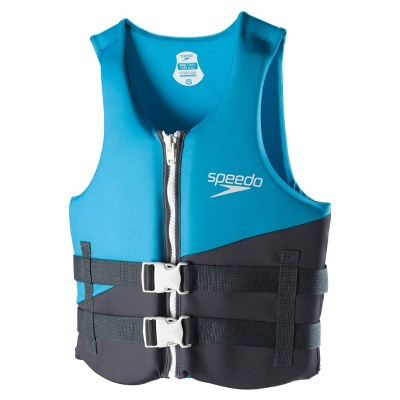Speedo Life Jacket Adult Vest XL/XXL - Blue