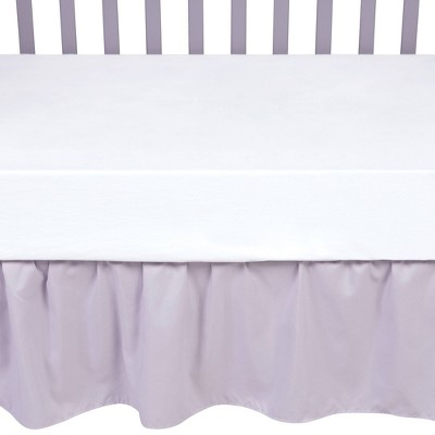 Sammy & Lou Crib Skirt - Gray