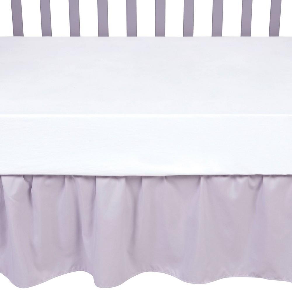 Sammy 38 Lou Crib Skirt Gray