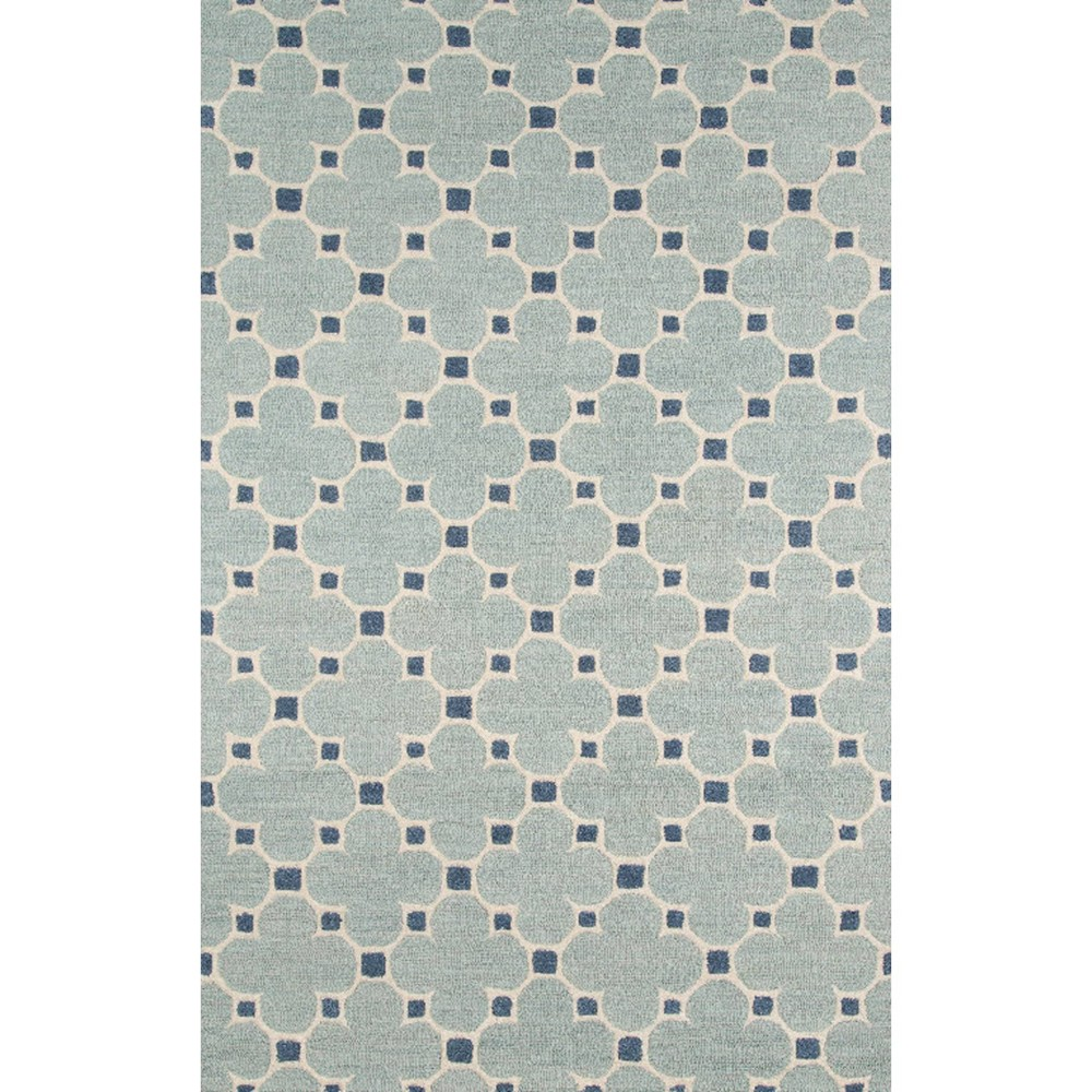 Candler Wool Area Rug - Blue (5' X 8')