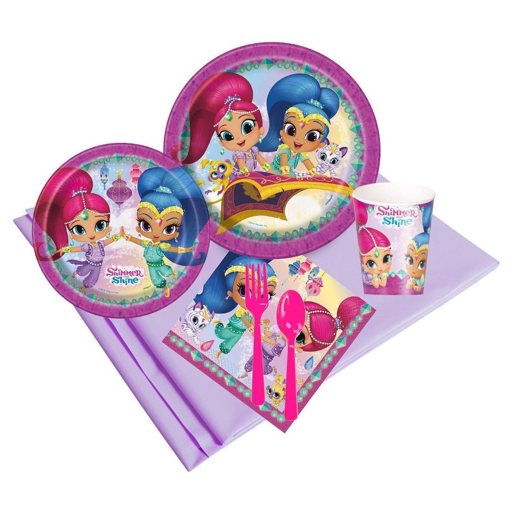 Shimmer and Shine 24 Guest Pink Party Pack