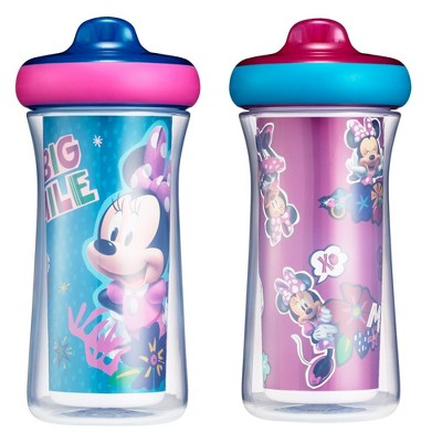 The First Years Disney Minnie Mouse ImaginAction Insulated Hard Spout Sippy Cups - 9oz 2pk