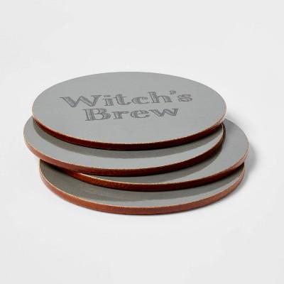 4pk Cork Witch's Brew Coasters - Threshold™