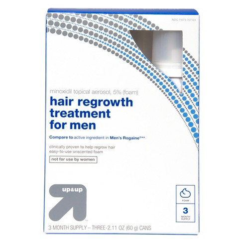 Foam Hair Regrowth Treatment For Men - 6.33oz - Up&Up™ (Compare to active ingredients in Men's Rogaine) - image 1 of 2