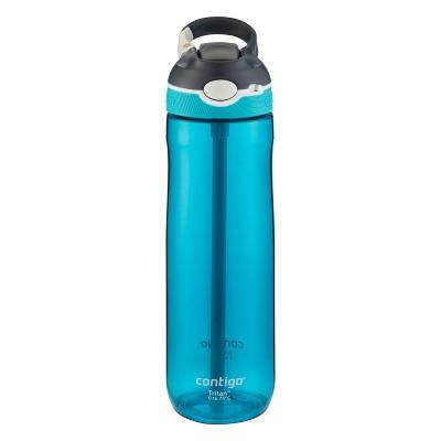 Contigo 24oz Autospout Straw Ashland Water Bottle Scuba Blue