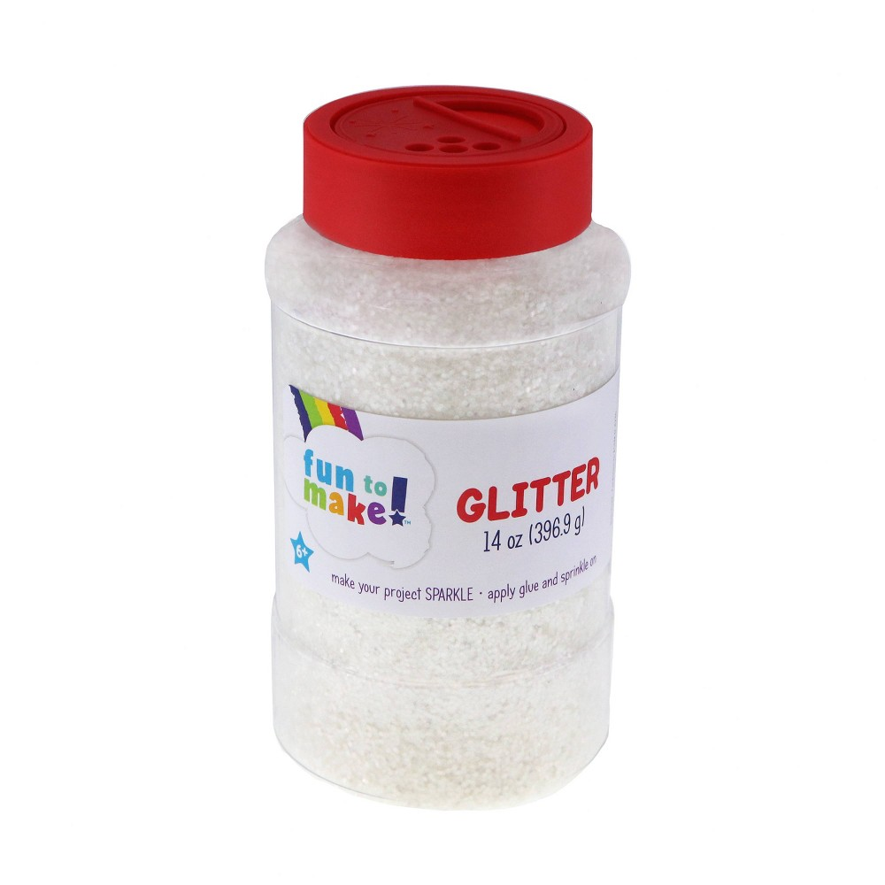 Sulyn 14oz Fun to Make Glitter - Clear