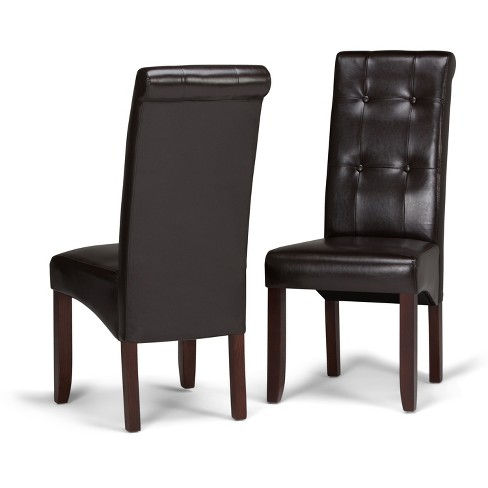 Cosmopolitan Deluxe Tufted Parson Chair Set Of 2 Target