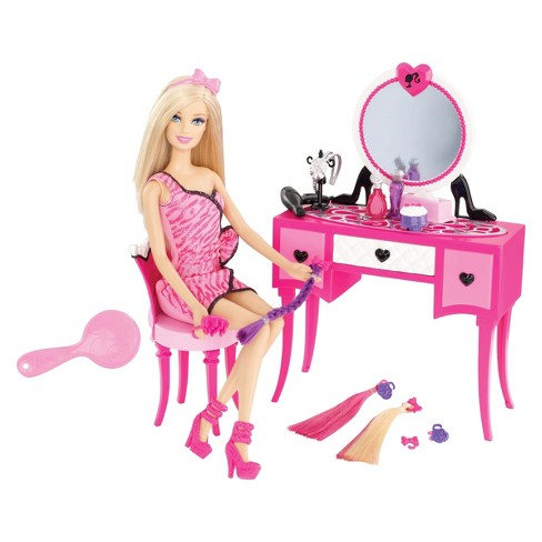Barbie Hairtastic Vanity and Doll Set - image 1 of 1