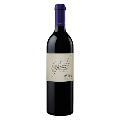 Seghesio Family Vineyards Sonoma Zinfandel Red Wine - 750ml Bottle