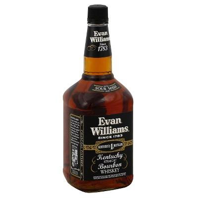 Evan Williams Kentucky Straight Bourbon Whiskey - 1.75L Bottle