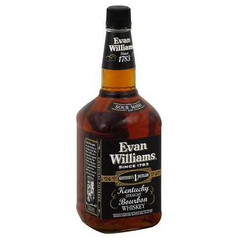 Evan Williams® Kentucky Straight Bourbon Whiskey - 1.75L Bottle - image 1 of 1