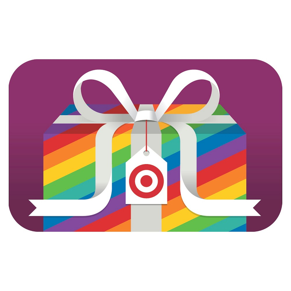 LGBT Rainbow Target Giftcard LGBT Rainbow Target Giftcard