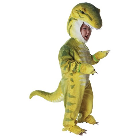 Toddler T Rex Green Costume 18-24 Months - image 1 of 1
