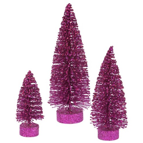 Vickerman Glitter Tree Set Tabletop Artificial Christmas Tree - image 1 of 2