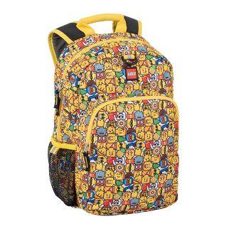 """LEGO 16"""" Mini Figure Emoji Kids' Backpack - Yellow"""