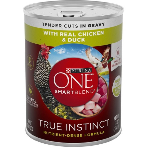 Purina ONE Smart Blend Wet Dog Food - 13oz - image 1 of 4