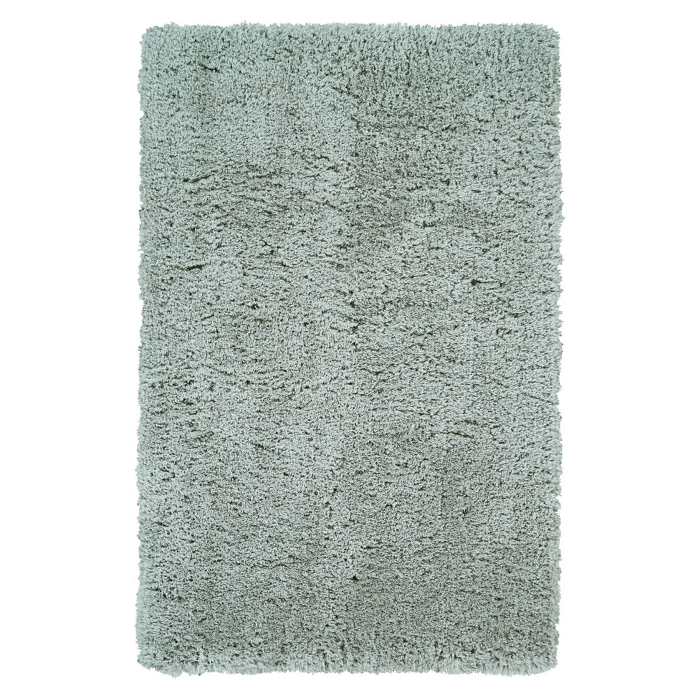 2'X3'4 Solid Tufted Accent Rugs Fog - Room Envy, Gray