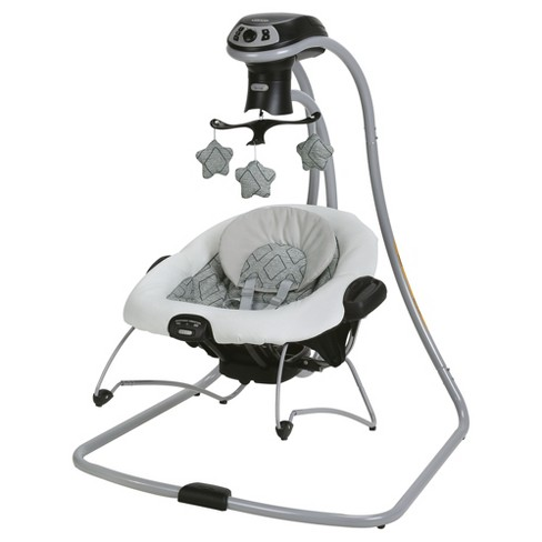 Graco DuetConnect LX Multi-Direction Baby Swing and Bouncer - Asher - image 1 of 4