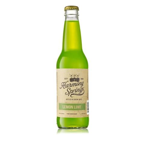 Harmony Springs Lemon Lime Soda - 12 fl oz Bottle - image 1 of 1