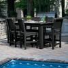 Weatherly 7pc Rectangular Counter Dining Set - Highwood - image 3 of 4