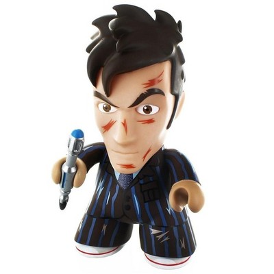 """Titan Books Doctor Who 6.5"""" """"End of Time"""" 10th Doctor Titan Vinyl Figure"""