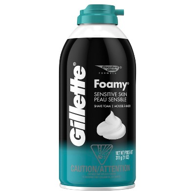 Gillette Foamy Men's Sensitive Shave Foam - 11oz