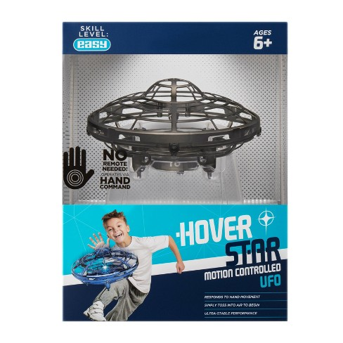 The Original Hover Star Motion Controlled UFO- Black - image 1 of 4