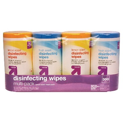 Disinfecting Wipes Lemon and Fresh Scent - 75ct/4pk - Up&Up™