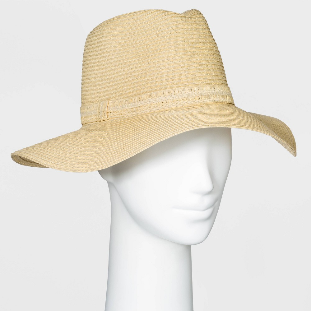 Best Women' Packable Eential  Fedora Hat - A New Day™  Natural