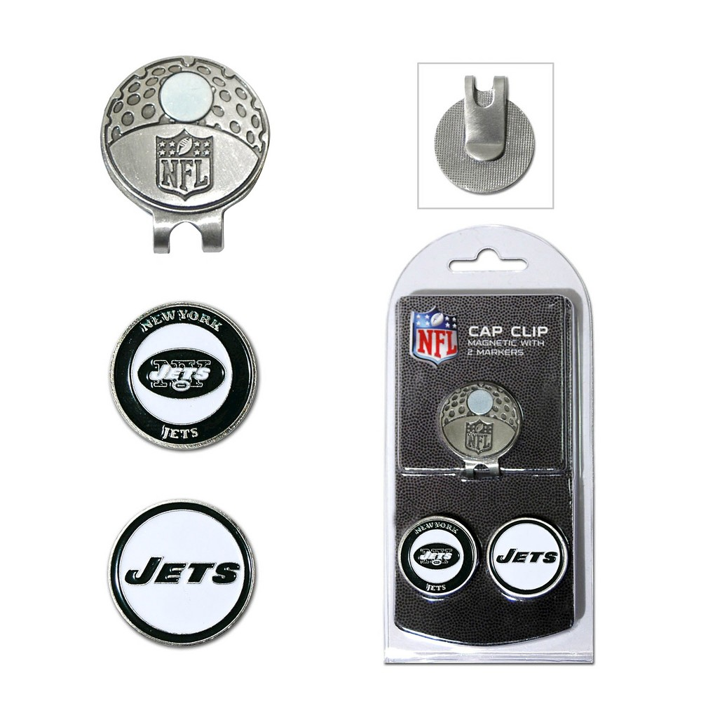 New York Jets Team Golf 2 Marker Cap Clip
