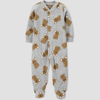 Baby Boys' Koala Fleece Sleep N' Play - Just One You® made by carter's Gray 6M