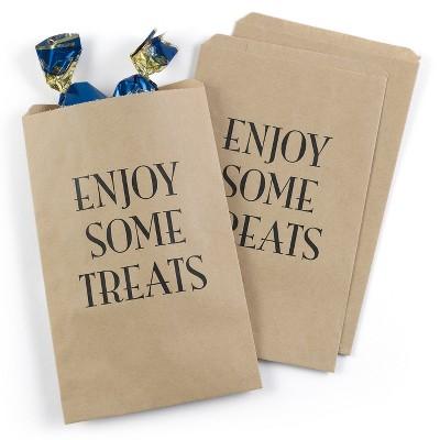 25ct Enjoy Some Treats Treat Bags