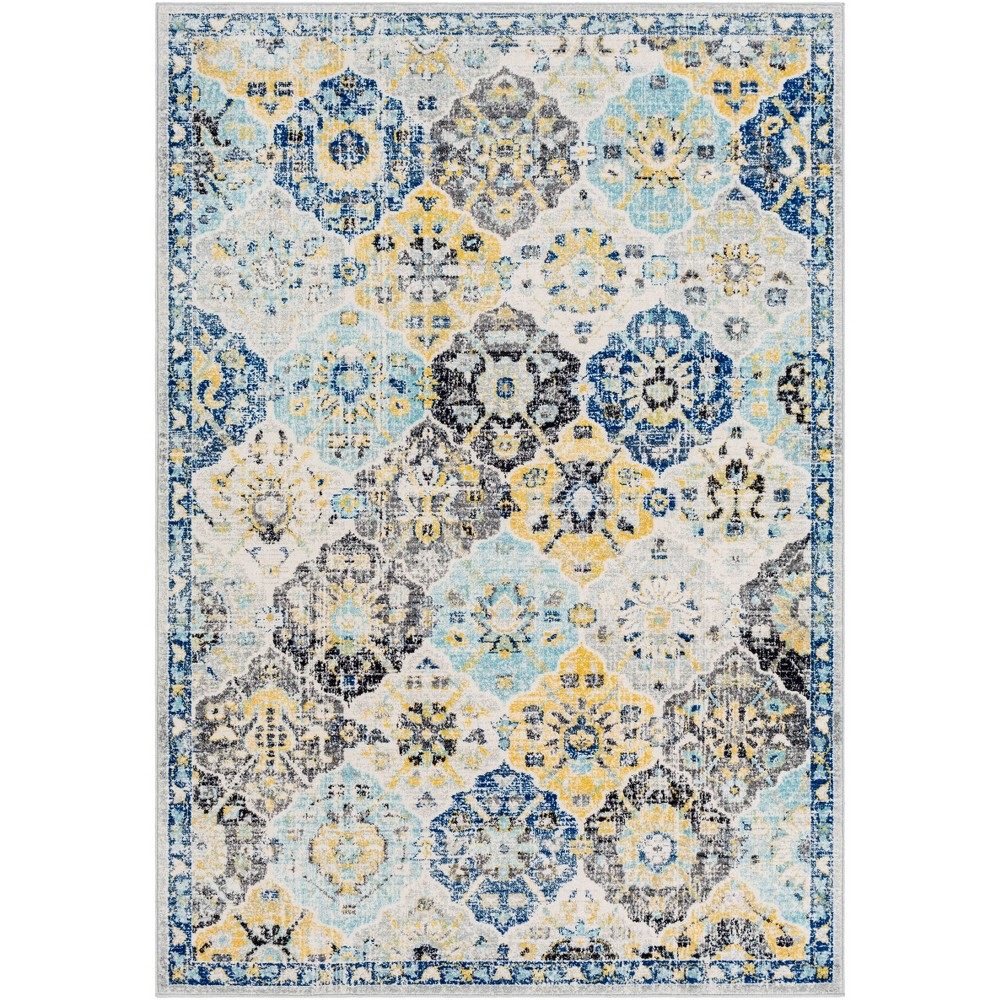 5 39 3 34 X7 39 3 34 Emily Traditional Rug Blue Artistic Weavers