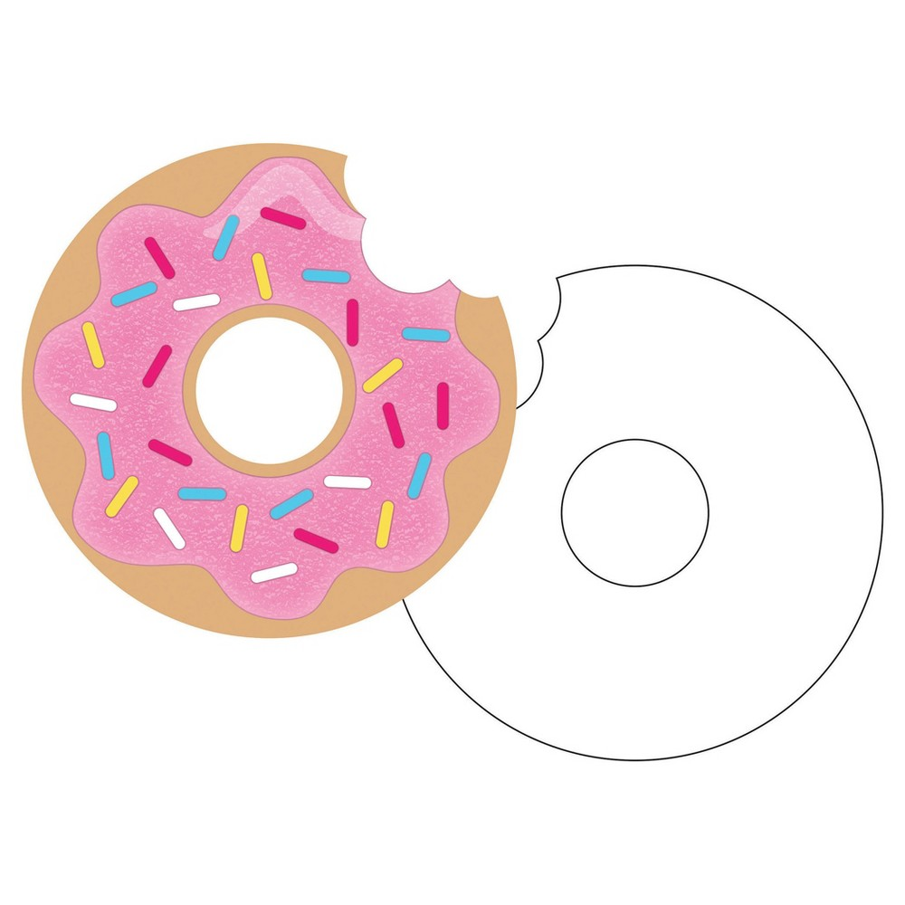 8ct Donut Time Invitations