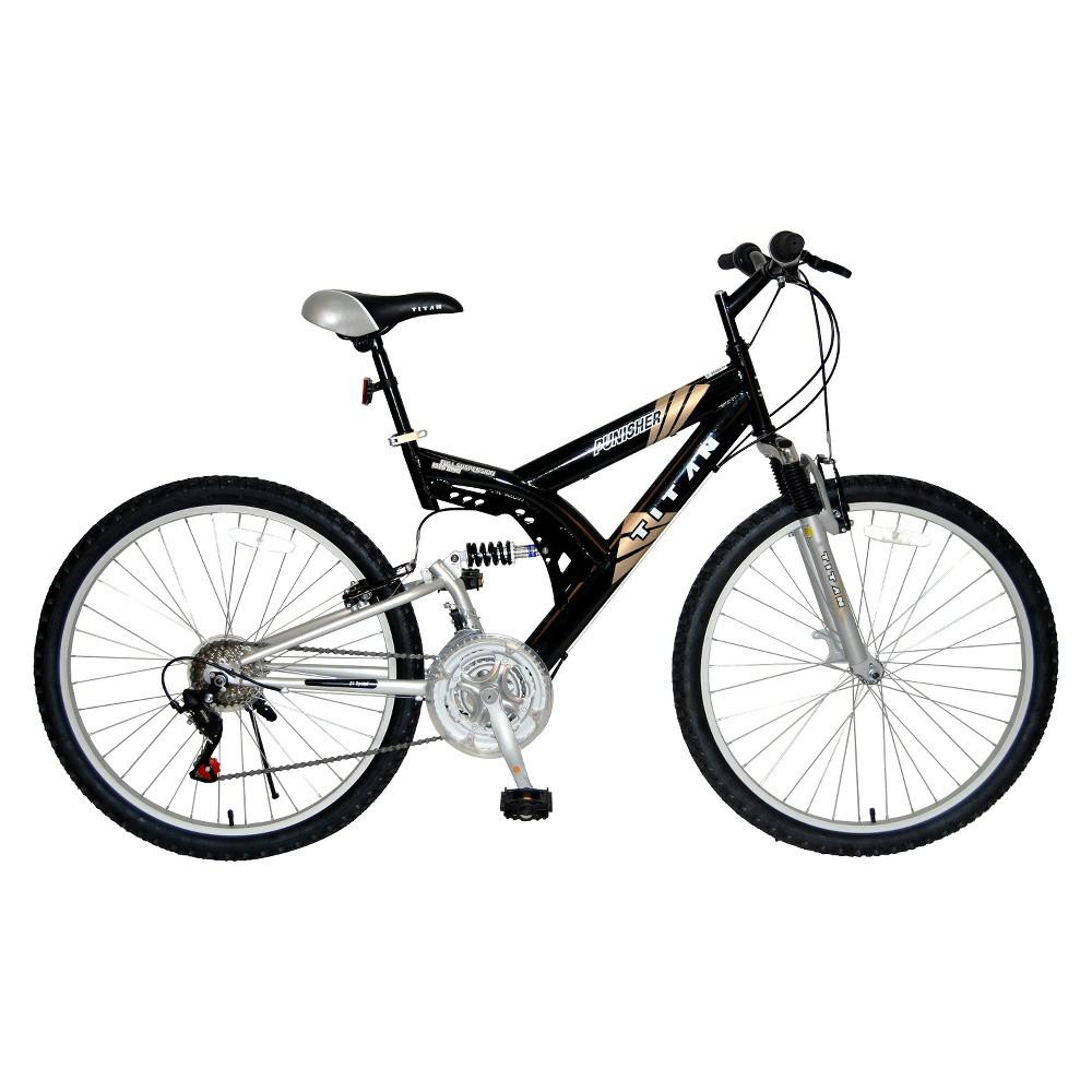 Titan Men's Punisher 26 Mountain Bike - Black