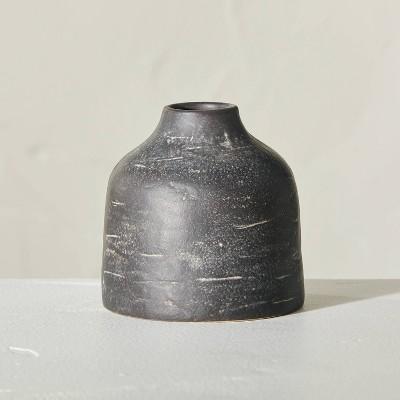 Distressed Ceramic Vase Dark Gray - Hearth & Hand™ with Magnolia