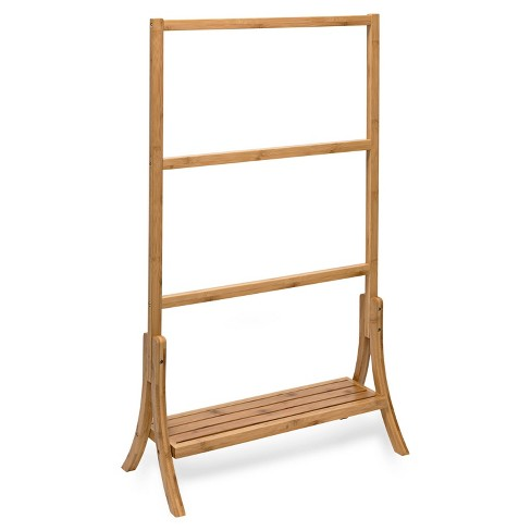 Honey-Can-Do Bamboo Towel Rail - image 1 of 2