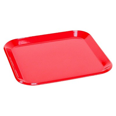 Red Square Salad Plate 8.5 x8.5  - Room Essentials™