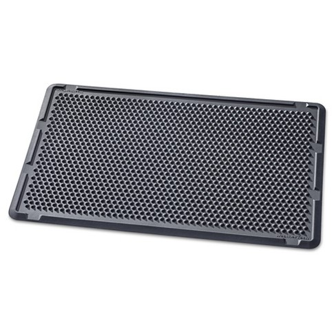 "Black Solid Doormat - (2'6""x4') - WeatherTech - image 1 of 2"