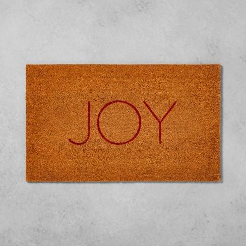 """18""""X30"""" Door Mat Joy - Hearth & Hand™ with Magnolia - image 1 of 2"""