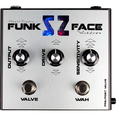 Ashdown Stuart Zender Funk Face Signature Effects Pedal Silver